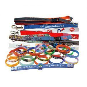 custom Lanyards & Silicon Bracelets