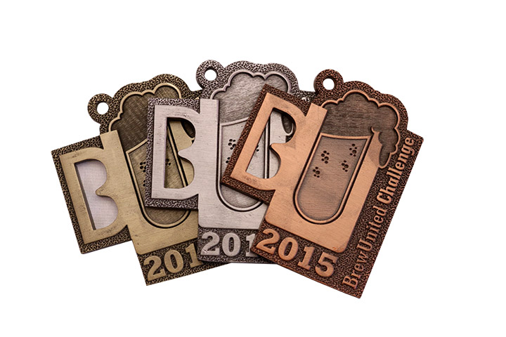 BREWUNITED 2015 MEDALS