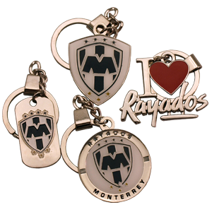 rayados-key-chains