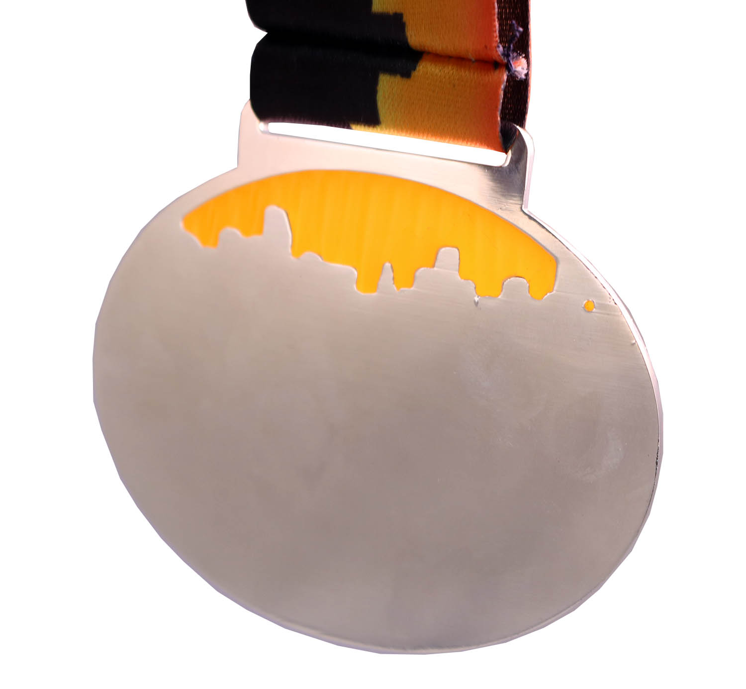 2018 CORPORATE RUN TRANSLUCENT MEDAL BACK