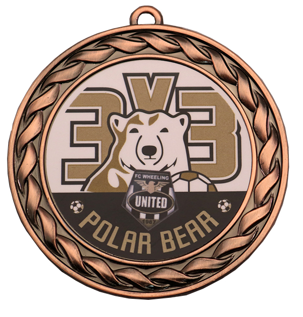 3V3 POLAR BEAR MEDAL