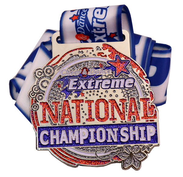 CHEER AND DANCE EXTREME MEDAL