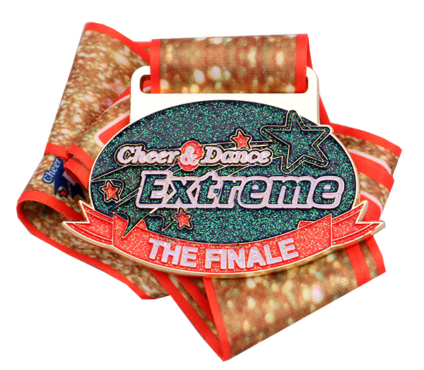 CHEER AND DANCE FINALE MEDAL