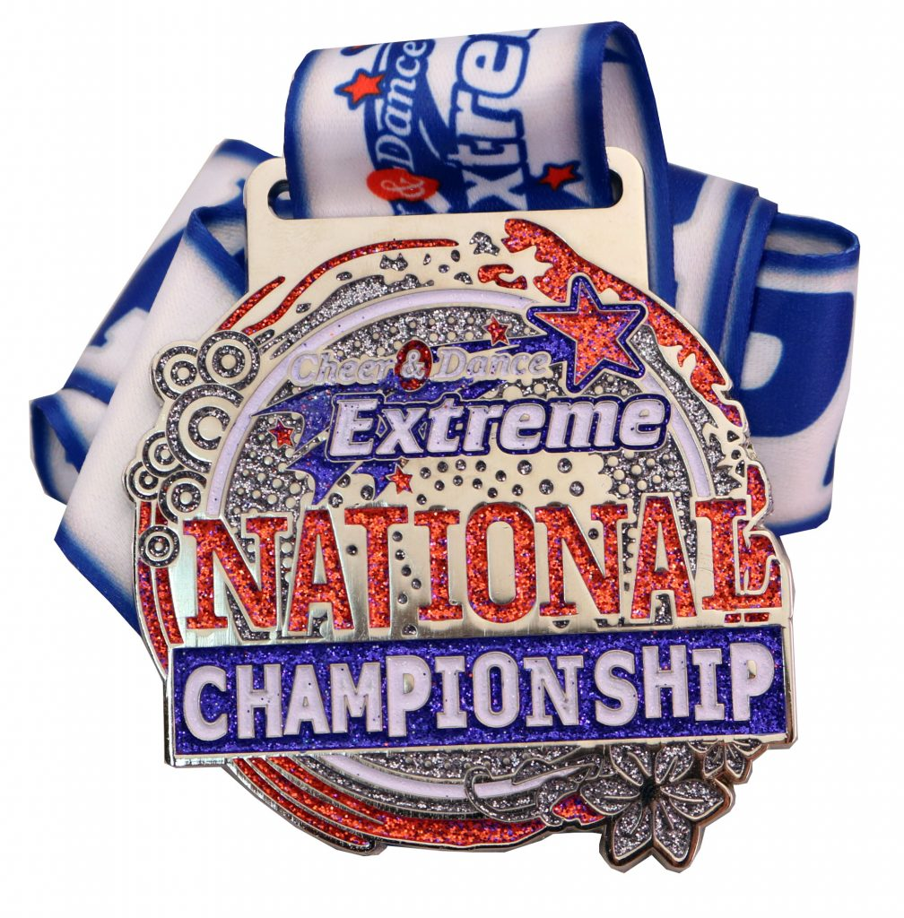 CHEER & DANCE EXTREME MEDAL NATIONAL