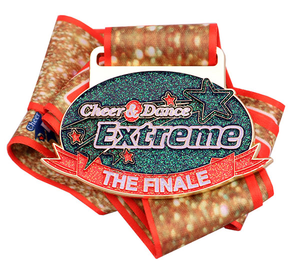 CHEER & DANCE EXTREME MEDAL
