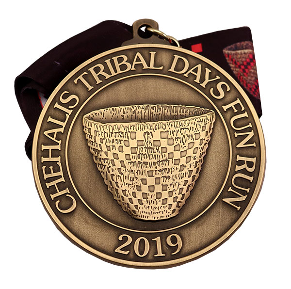 CHEHALIS TRIBAL DAY MEDAL