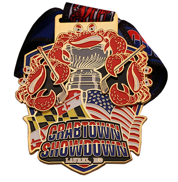 CRABTOWN SHOWDOWN MEDAL