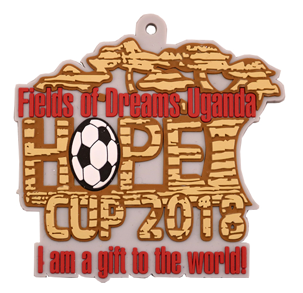 FIELDS OF FREAMS UGANDA MEDAL