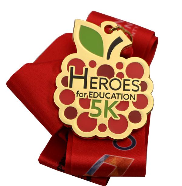 HEROES 5K MEDAL