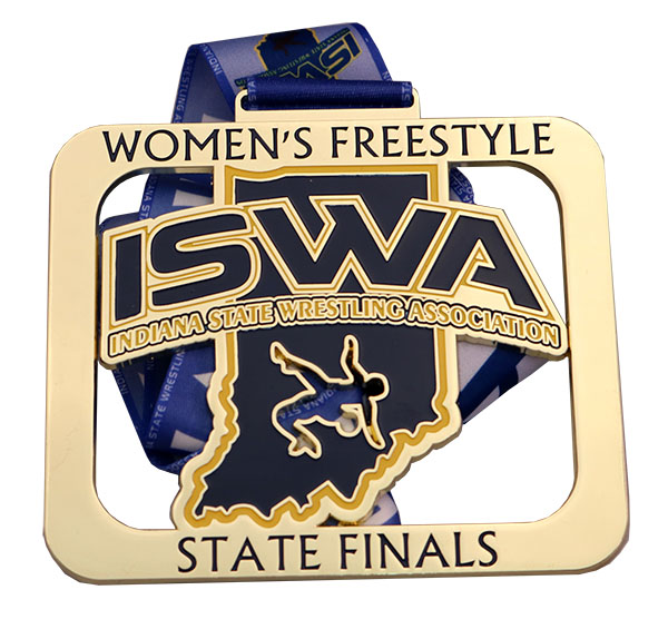 ISWA FREESTYLE MEDAL