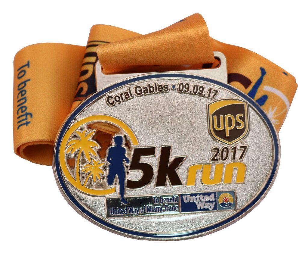 MEDAL MBCR UPS 5K 2017
