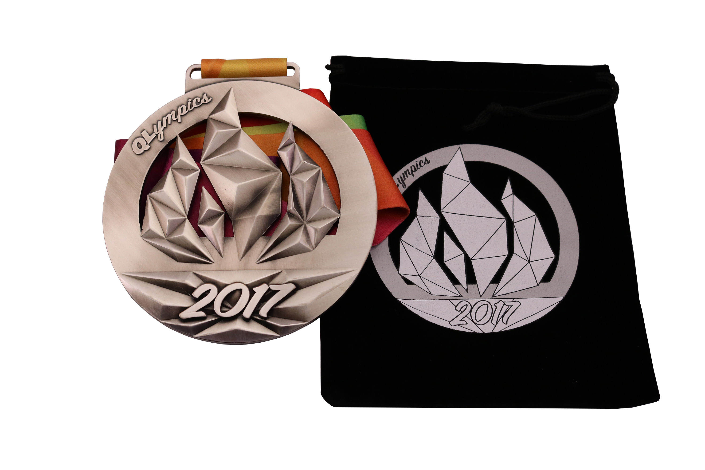 QL MEDAL AND BAG