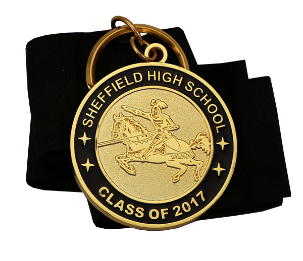 SHEFFIELD HIGH MEDAL