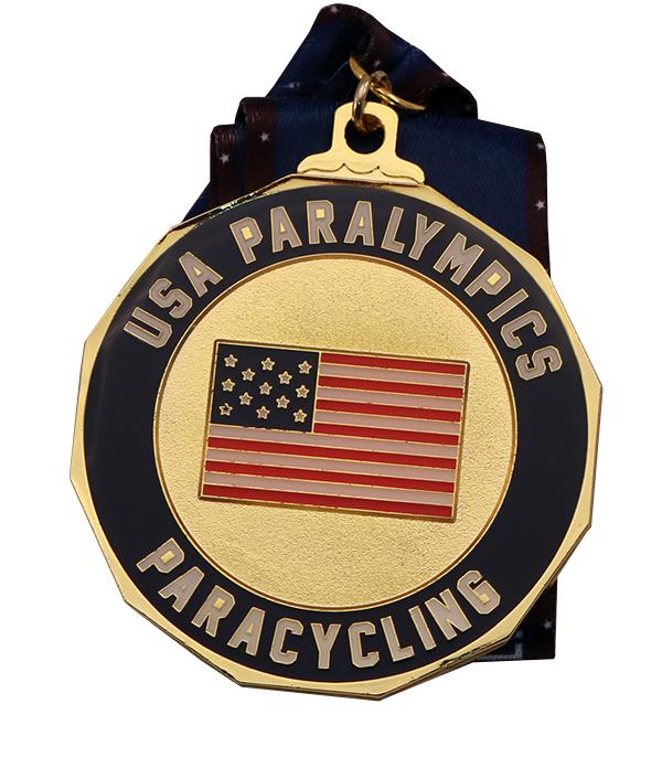 USA PARALYMPICS MEDAL