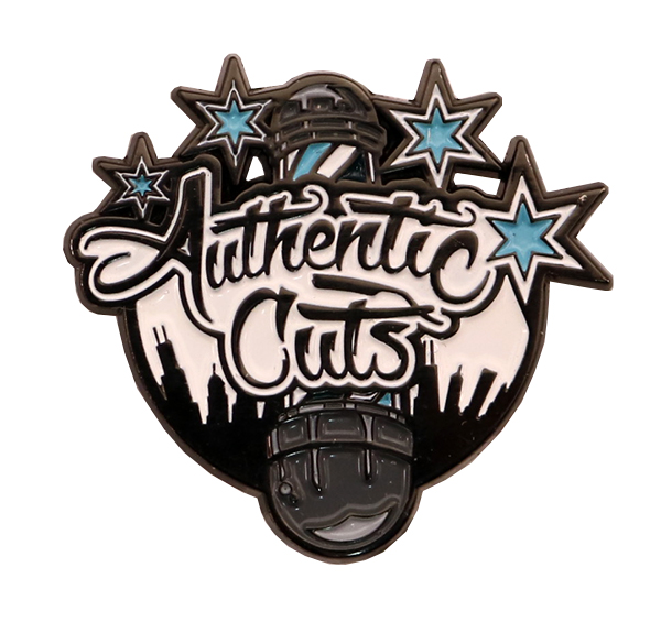 AUTHENTIC CUTS PIN