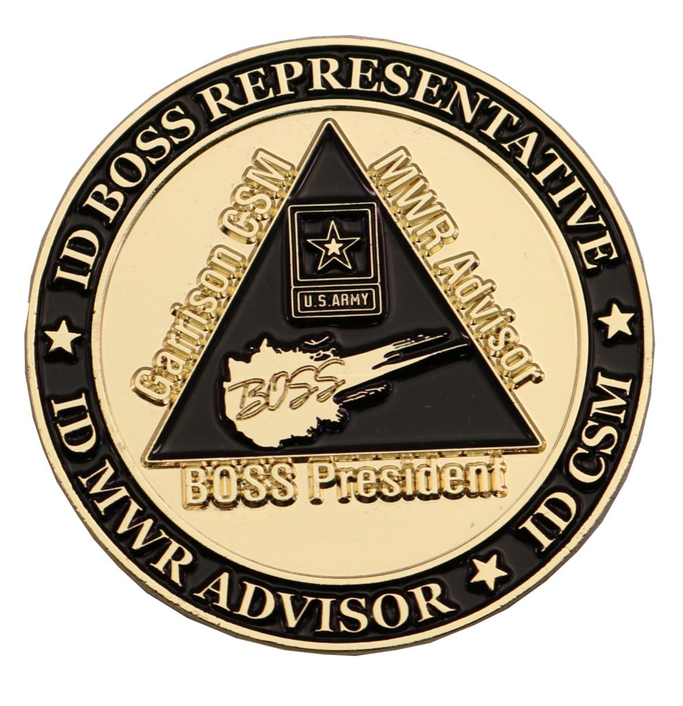 BOSS COIN FRONT