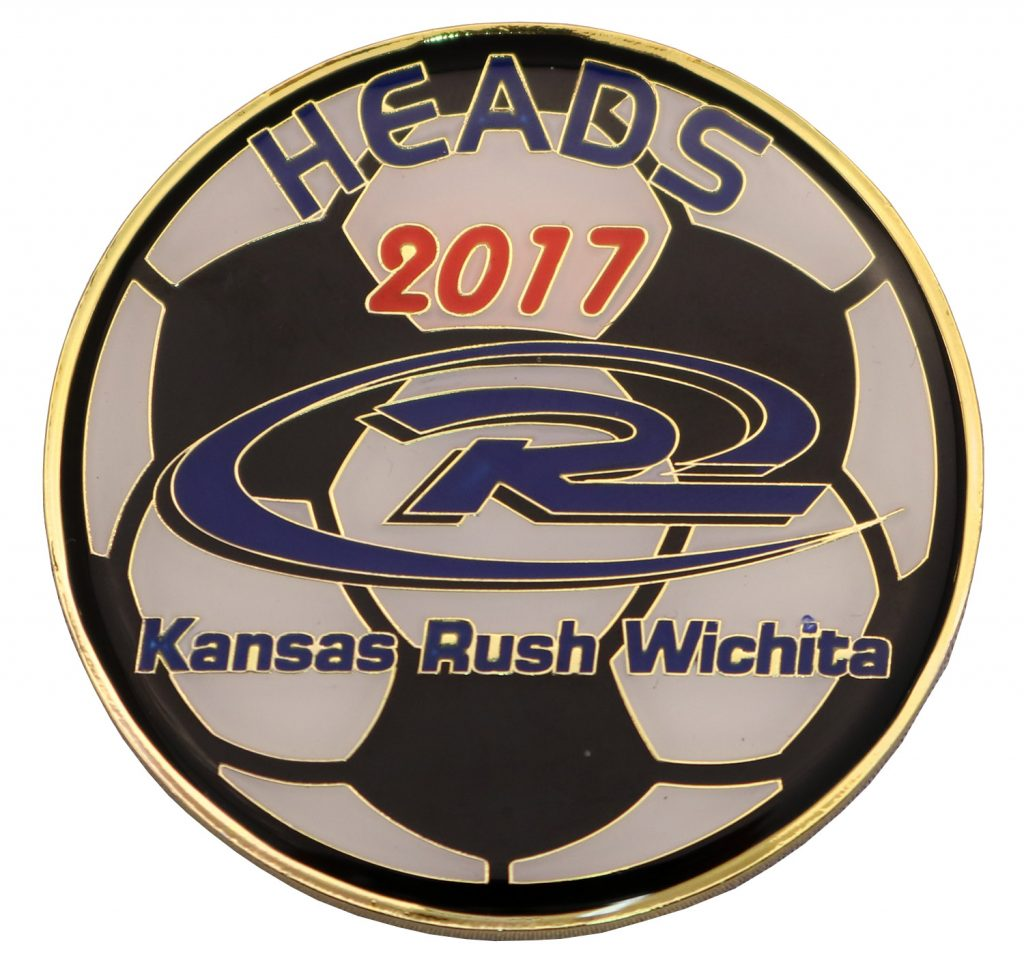 COIN KANSAS RUSH WICHITA FRONT 2017