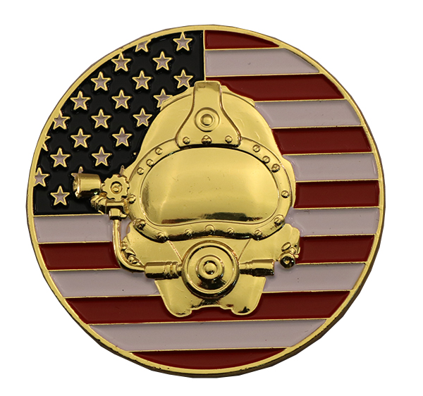 DEEP SEA DIVER PIN FRONT