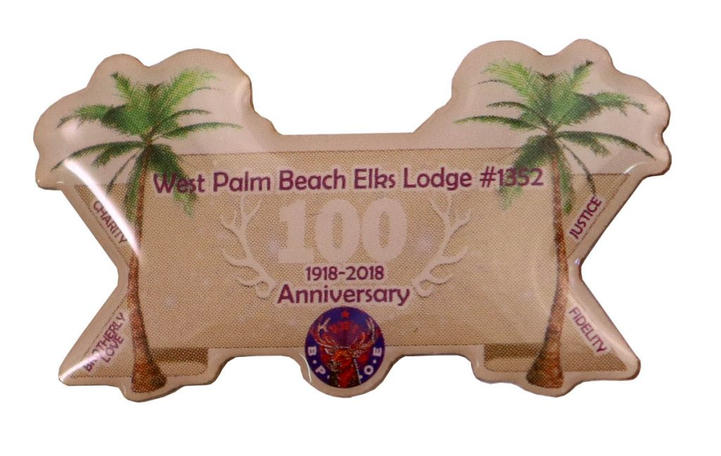 ELK LODGE PIN