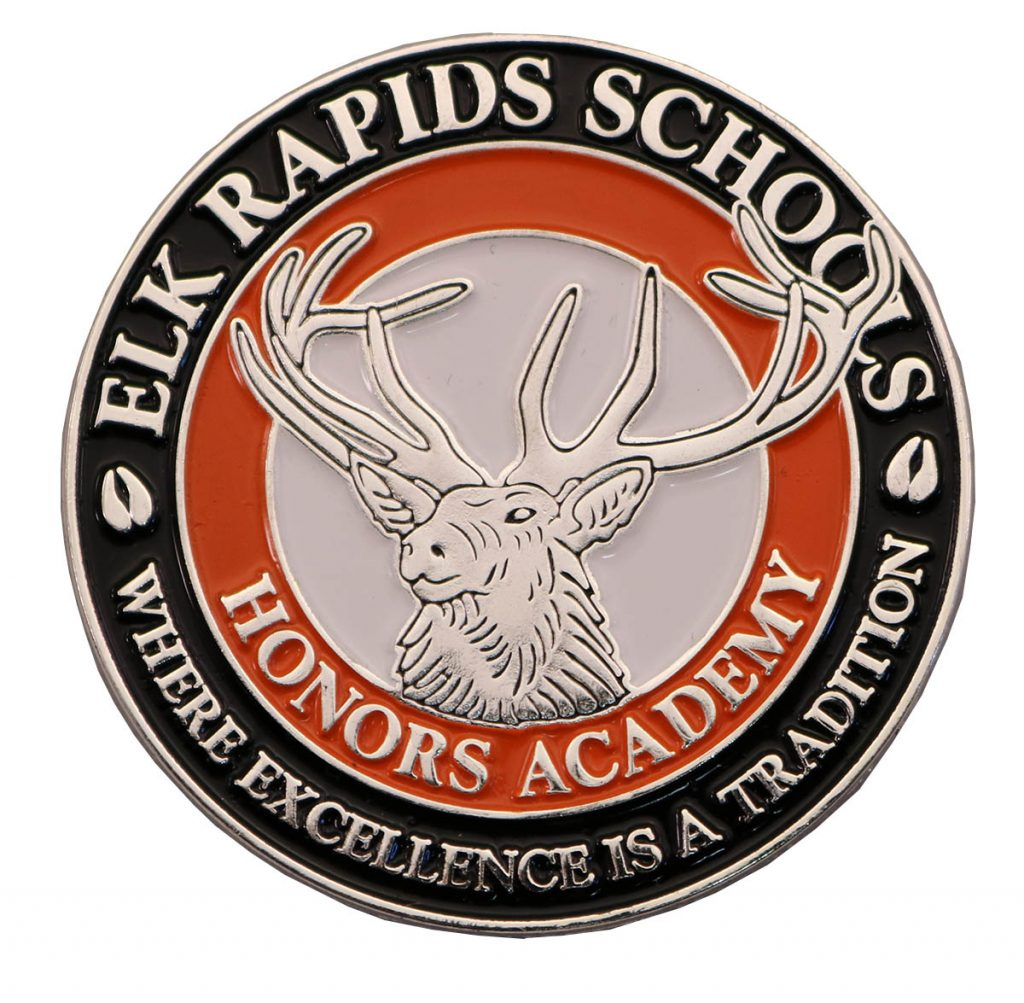 ELK RAPIDS PIN