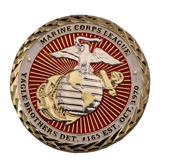 HQ CAMP BUDAY COIN BACK