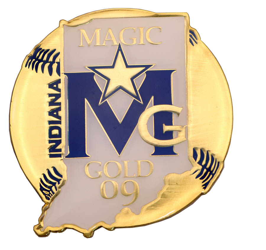 INDIANA MAGIC GOLD PIN