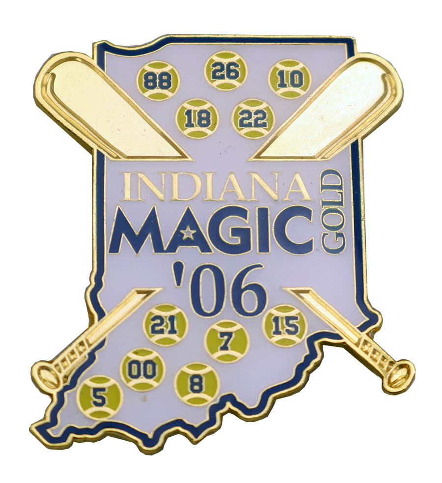 INDIANA MAGIC PIN