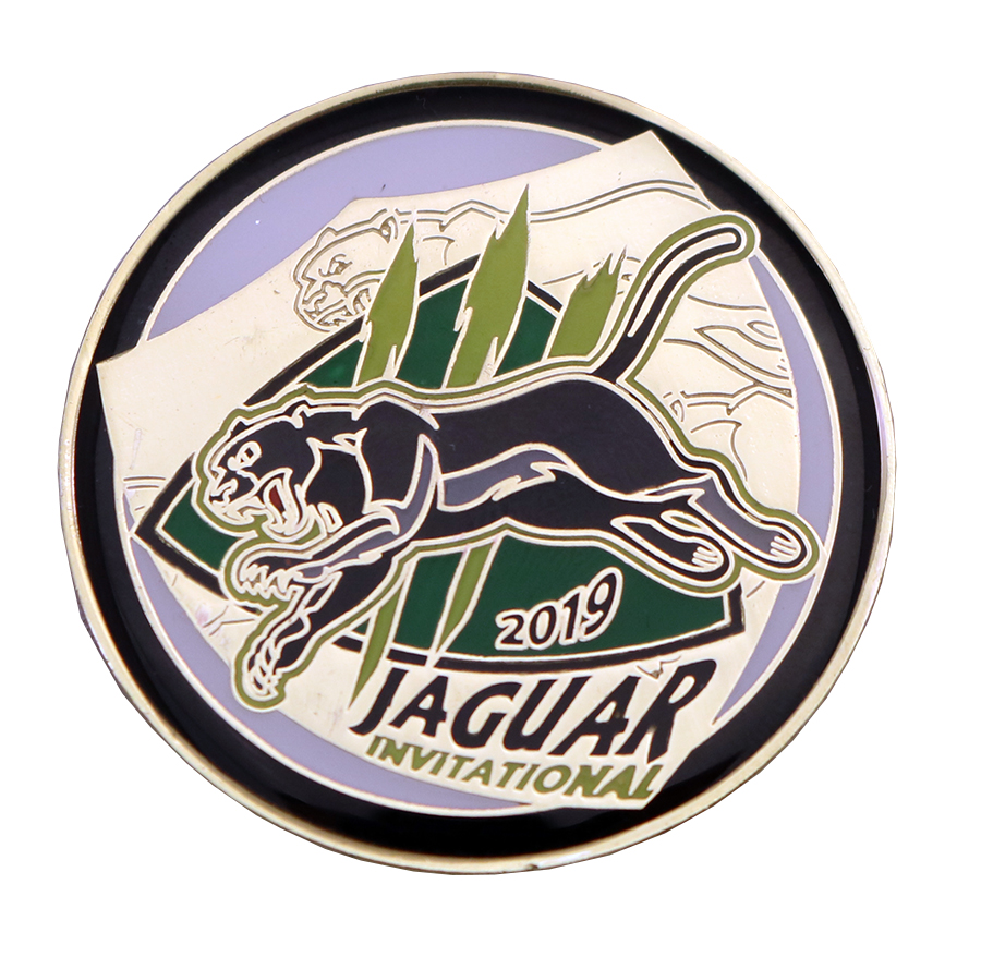 JAGUAR INVITATIONAL COIN FRONT