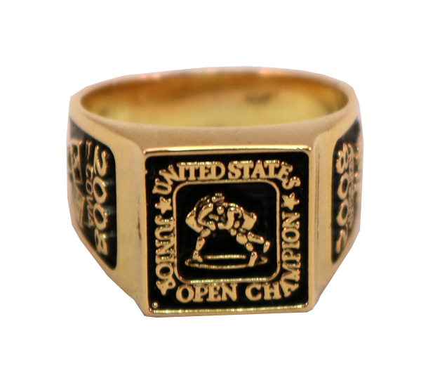 JUNIOR OPEN CHAMPS RING FRONT