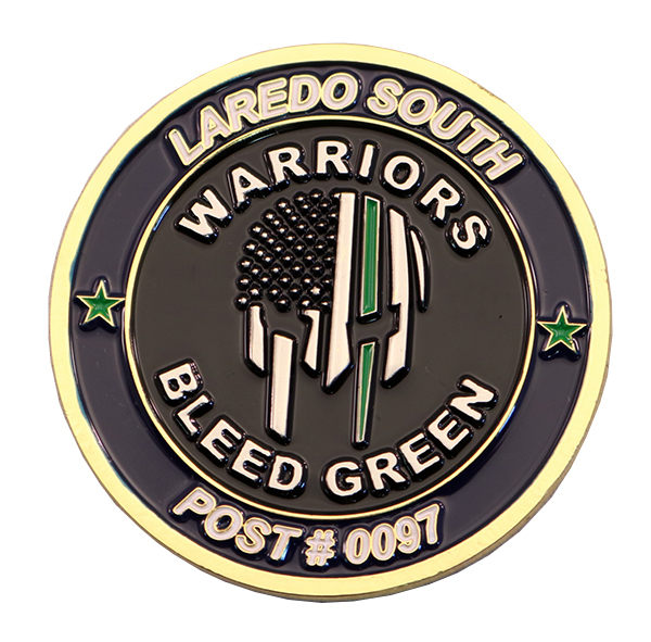 LAREDO SOUTH COIN BACK