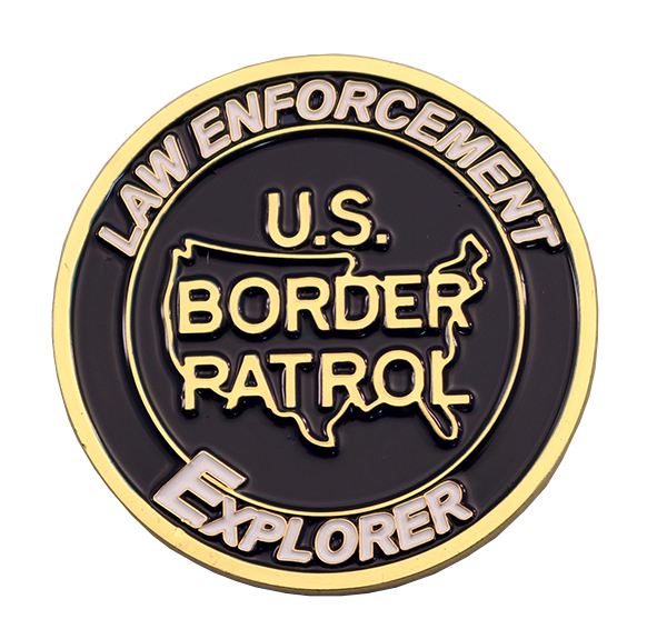 LAREDO SOUTH COIN FRONT