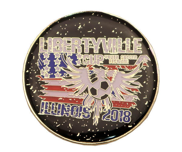 LIBERTYVILLE CUP COIN FRONT