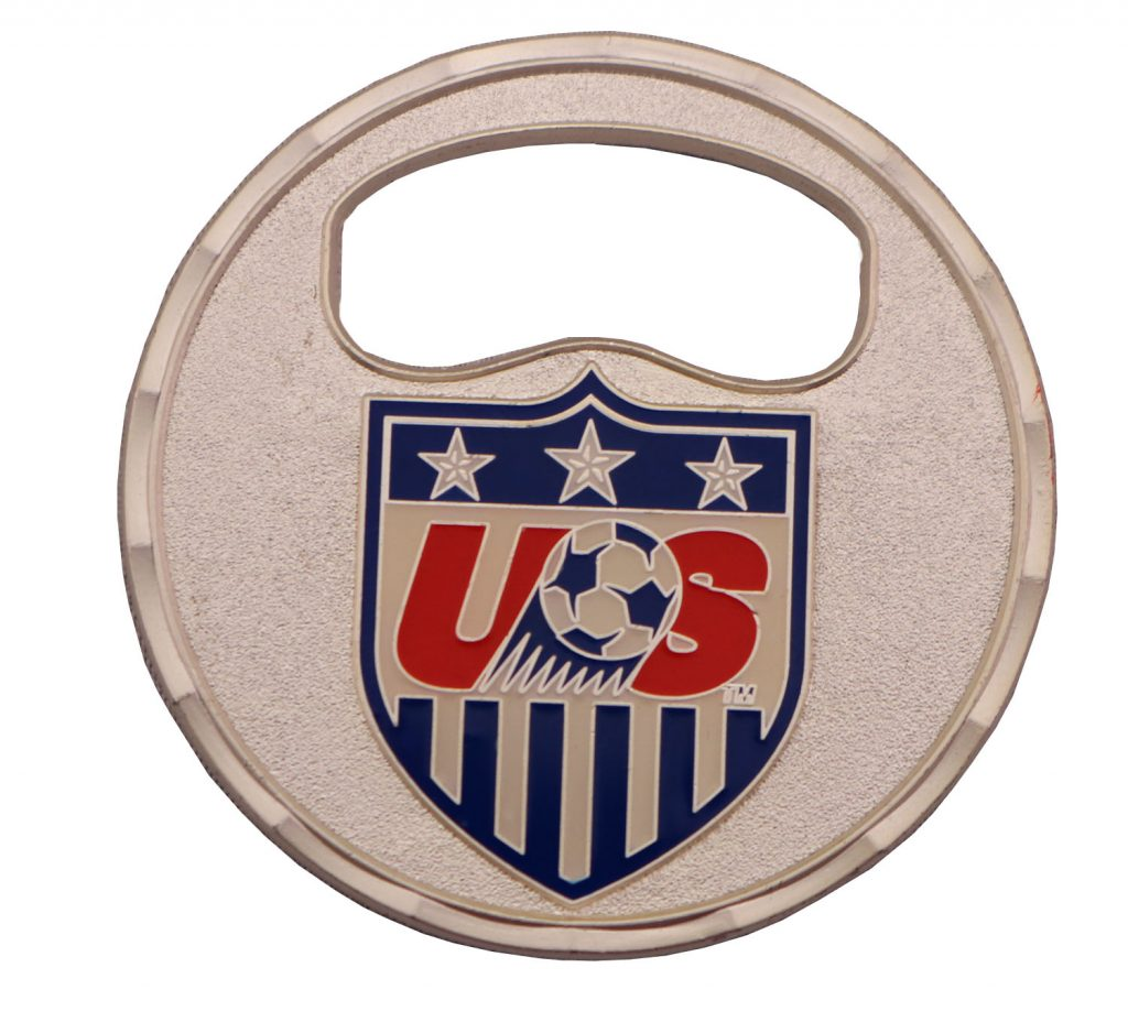 MICH BOTTLE OPENER COIN BACK