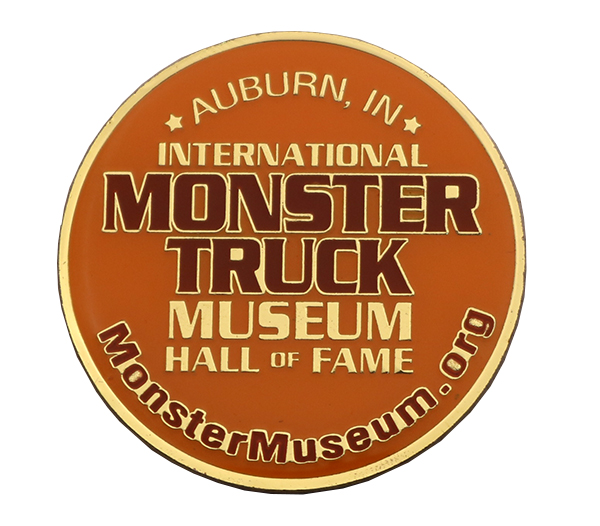 MONSTER MUSEUM TRUCK COIN FRONT