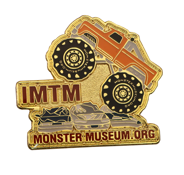 MONSTER MUSEUM TRUCK PIN