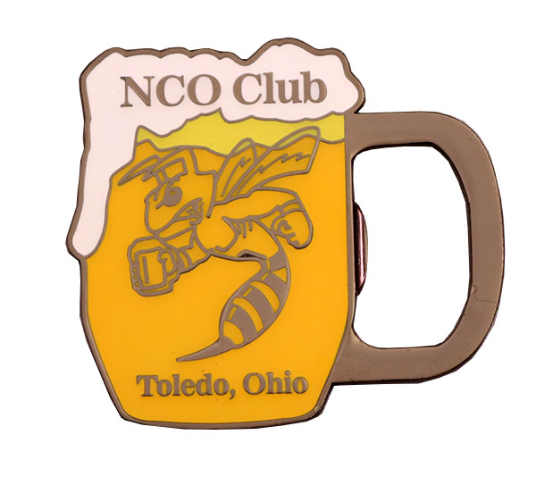 NCO CLUB BOTTLE OPENER COIN