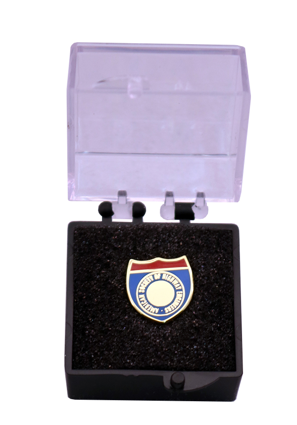 PIN WITH CLEAR BOX
