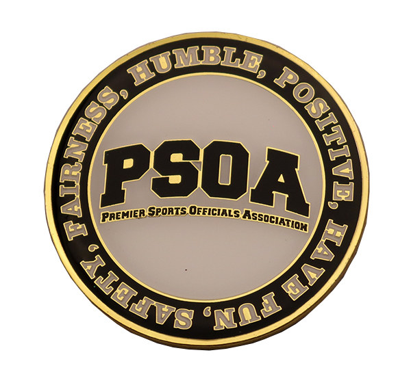 PSOA COIN FRONT