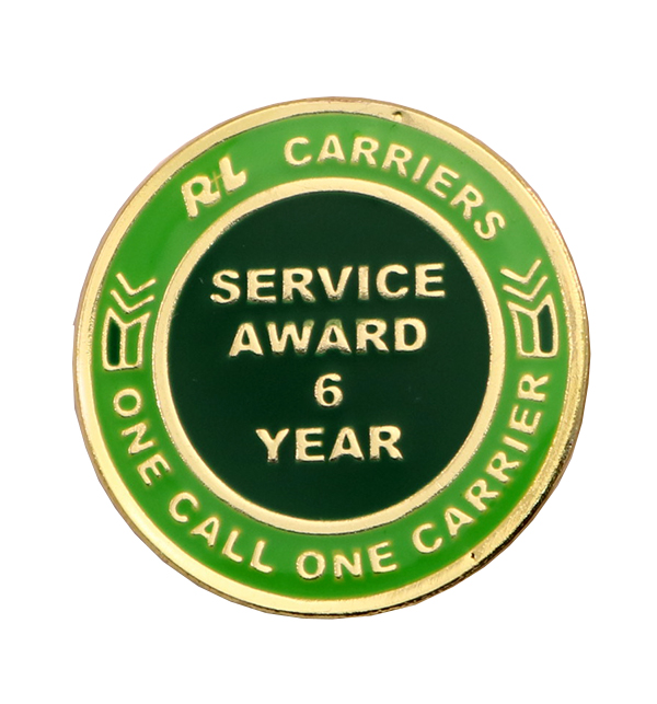 R-L CARRIERS PIN