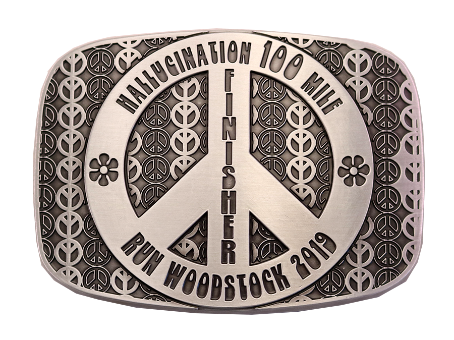 RUN WOODSTOCK BELT BUCKLE