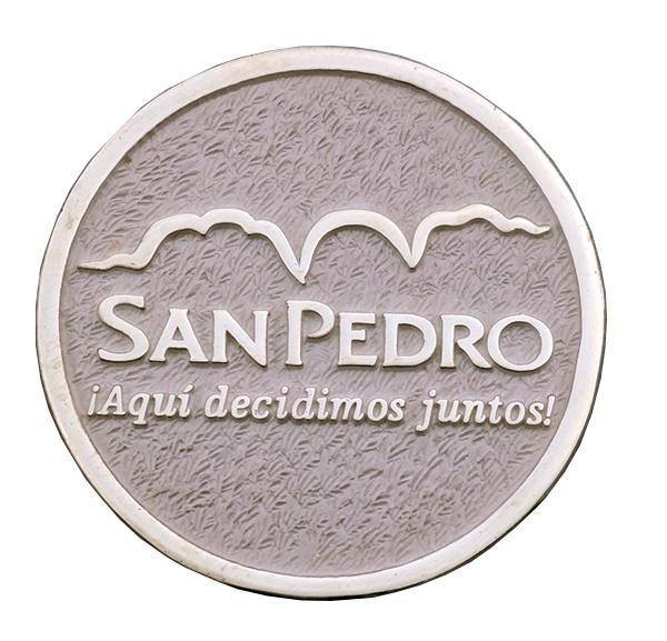 SAN PEDRO COIN FRONT
