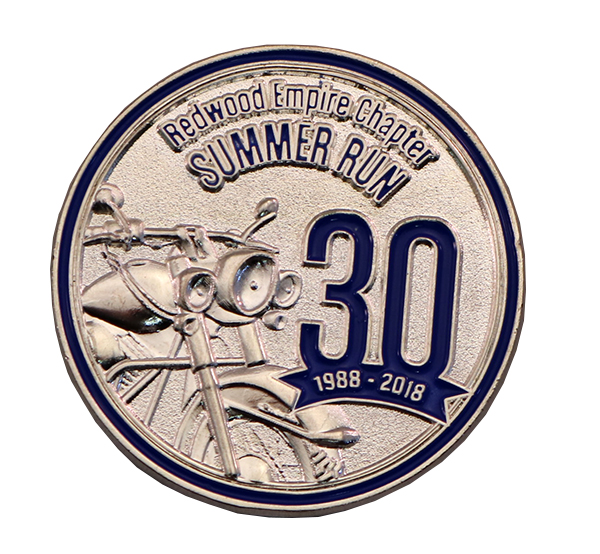 SUMMER RUN PIN