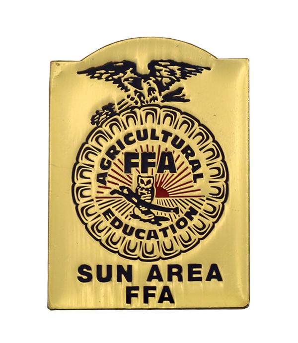 SUN AREA FFA PIN