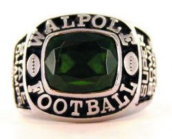 Custom Championship Ring Facet Stone