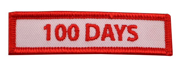 100 DAY PATCH
