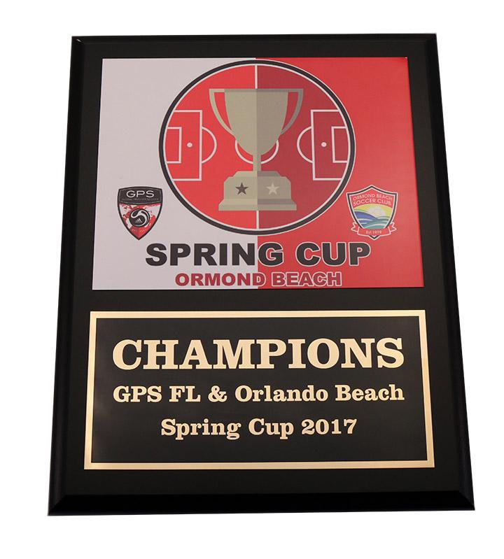 2017 SPRING CUP PLAQUE