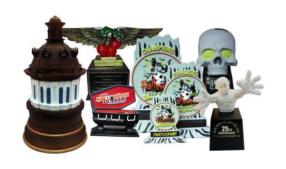 Custom Resin Trophies & Awards