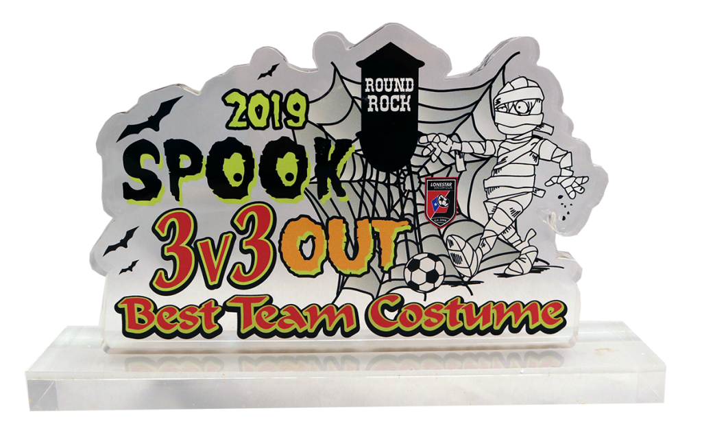 2019 SPOOK OUT ACRYLIC