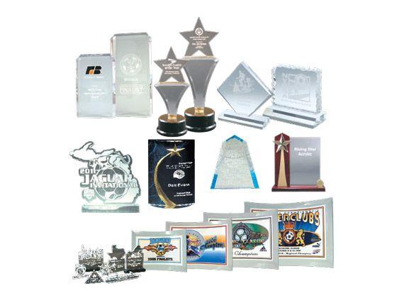 Custom Glass & Acrylic Awards