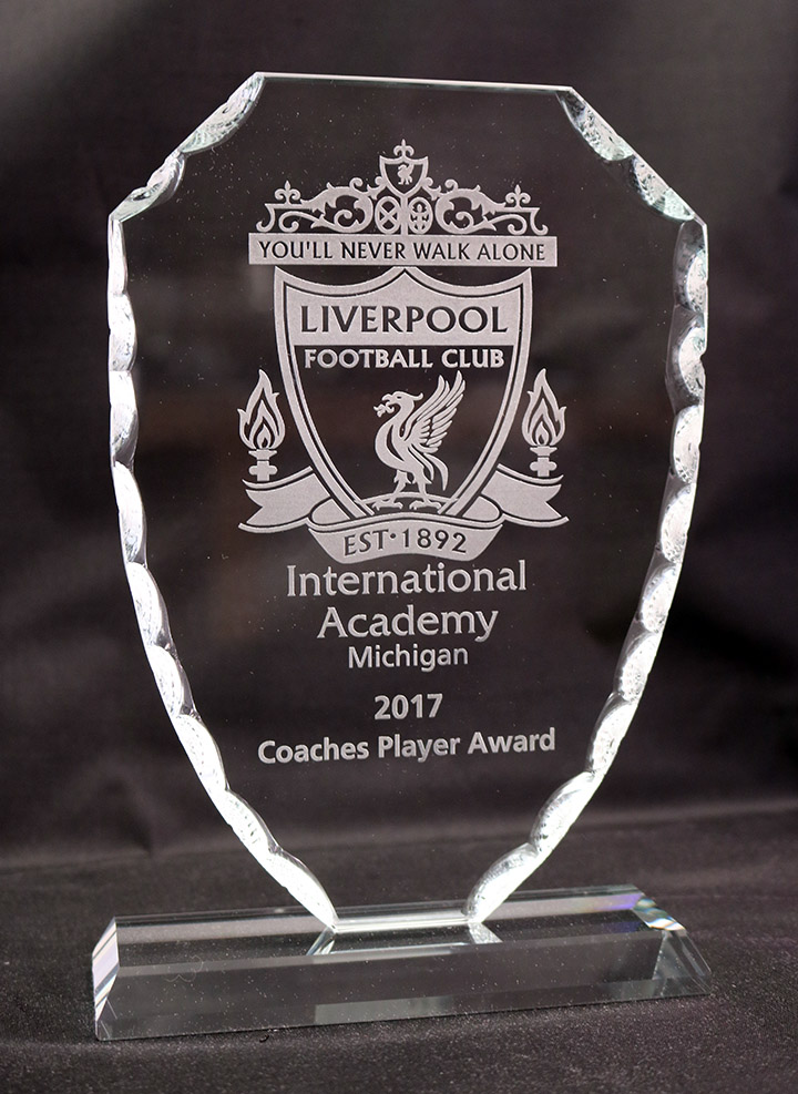 LIVERPOOL GLASS TROPHIE